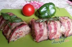 Příprava receptu Zapečené maso se sýrem v anglické slanině, krok 16