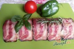 Příprava receptu Zapečené maso se sýrem v anglické slanině, krok 15
