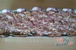 Příprava receptu Zapečené maso se sýrem v anglické slanině, krok 11