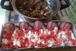 Příprava receptu Zapečené maso se sýrem v anglické slanině, krok 8