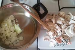 Příprava receptu Zapečené maso se sýrem v anglické slanině, krok 2