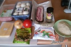 Příprava receptu Zapečené maso se sýrem v anglické slanině, krok 1