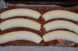 Příprava receptu Banánové řezy s čokoládovými hoblinami, krok 3