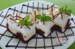 Příprava receptu Tvarohový koláč s bílkovou pěnou, krok 1