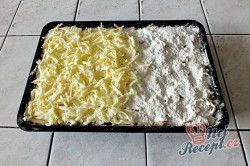 Příprava receptu Sypaná hrnková buchta s jablky, krok 7