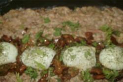 Příprava receptu Roláda z mletého masa s hřiby, krok 5
