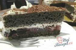 Příprava receptu Makový dort s višněmi, krok 3