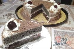 Příprava receptu Makový dort s višněmi, krok 4
