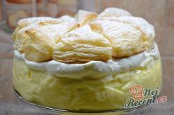 Příprava receptu Velmi oblíbený KRÉMEŠ dort, krok 6