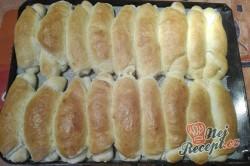 Příprava receptu Domácí rohlíky, krok 2