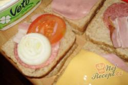 Příprava receptu Zapékané toasty, krok 4