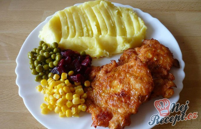 Recept Kuřecí placky s dietní salámem