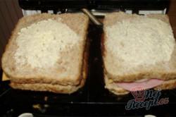 Příprava receptu Zapékané toasty, krok 7