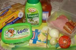 Příprava receptu Zapékané toasty, krok 1