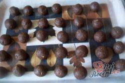 Příprava receptu Dvoubarevné kuličky na vánoční stůl, krok 3