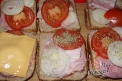 Příprava receptu Zapékané toasty, krok 5