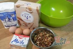 Příprava receptu Vánoční vanilkové rohlíčky, krok 1