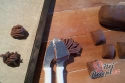 Příprava receptu Kakaová klubka s chutí skořice, krok 5