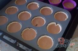 Příprava receptu Muffinky s tvarohovým krémem, krok 1