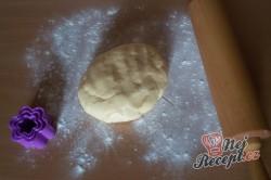 Příprava receptu Boží milosti - růžičky/kytičky - FOTOPOSTUP, krok 9