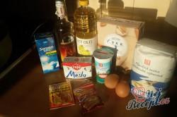 Příprava receptu Boží milosti - růžičky/kytičky - FOTOPOSTUP, krok 1