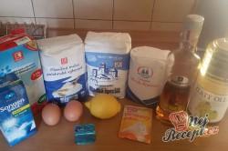 Příprava receptu Děravé koblihy, krok 1