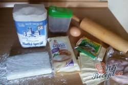 Příprava receptu Listové rolky se šunkou a sýrem - rychlovečka, krok 1
