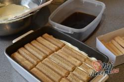 Příprava receptu Originální TIRAMISU v pohárech, krok 5