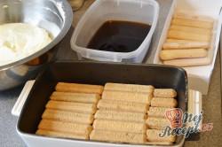 Příprava receptu Originální TIRAMISU v pohárech, krok 4