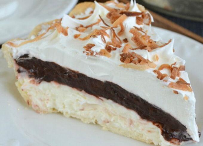 Recept Neodolatelný krémový kokosový dortík