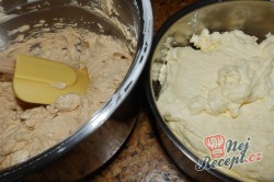 Příprava receptu Nejlepší větrníky s vanilkovým a karamelovým krémem, krok 13