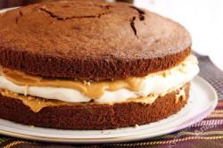 Příprava receptu SNICKERS dort - fotopostup, krok 9