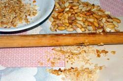 Příprava receptu SNICKERS dort - fotopostup, krok 6