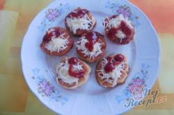 Příprava receptu Langošky - jednohubky, krok 1