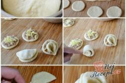 Příprava receptu Koláč z kynutého těsta s masovou nádivkou, krok 1