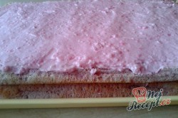 Příprava receptu Zákusek růžový sen - fotopostup, krok 7