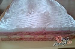 Příprava receptu Zákusek růžový sen - fotopostup, krok 8
