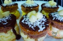 Příprava receptu Tříbarevné koláčky, krok 1