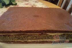 Příprava receptu Kakaové řezy s mákem, krok 14