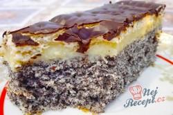 Příprava receptu Makové kostky s vanilkovým krémem, krok 2