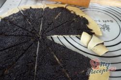 Příprava receptu Křupavé rohlíčky s bohatou makovou náplní, krok 2