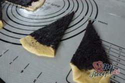 Příprava receptu Křupavé rohlíčky s bohatou makovou náplní, krok 3