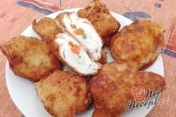 Příprava receptu Smažená kuřecí prsa plněná zeleninou, krok 1