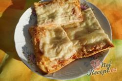 Příprava receptu Rychlá pizza z listového těsta, krok 6