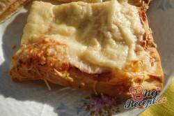 Příprava receptu Rychlá pizza z listového těsta, krok 7
