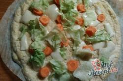 Příprava receptu Zdravá pizza, krok 2