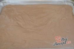 Příprava receptu Čokoládově tvarohové kostky, krok 4
