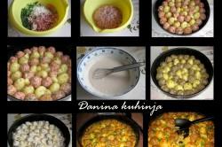 Příprava receptu Mini karbanátky s bramborami pečené v jednom pekáči, krok 1