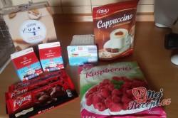 Příprava receptu Tvarohovo kapučínový dezert, krok 1