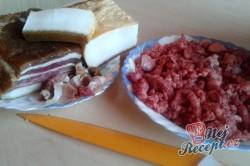 Příprava receptu Plněné kapustové listy masem a kroupami FOTOPOSTUP, krok 5
